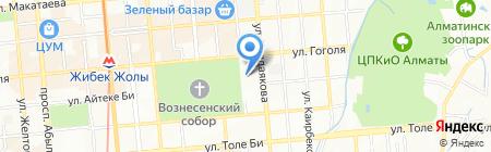 Men Qazaqpyn на карте Алматы