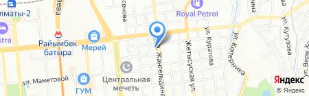 Автокредит НЛК на карте Алматы
