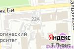 Схема проезда до компании Geneva Business School в Алматы