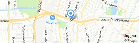 Ан Дин на карте Алматы