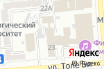 Схема проезда до компании Амитруд Дарига в Алматы
