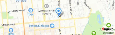 Полиграфкомбинат на карте Алматы