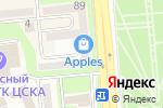 Схема проезда до компании АРТ ПАРКЕТ в Алматы