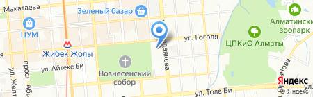 Esquire на карте Алматы