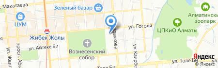 Лиза. Мой ребенок на карте Алматы
