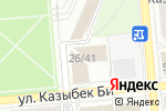 Схема проезда до компании Европейский банк реконструкции и развития в Алматы