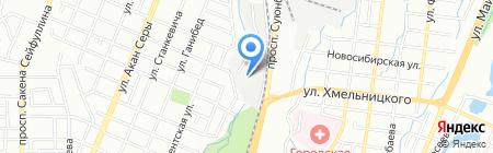 Antara Steel на карте Алматы