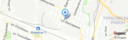 Каролит ЛТД на карте Алматы