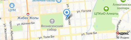 Ангар-Казахстан на карте Алматы
