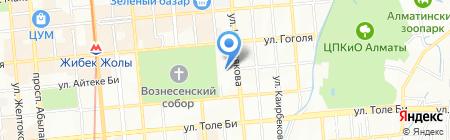 Дом армии на карте Алматы