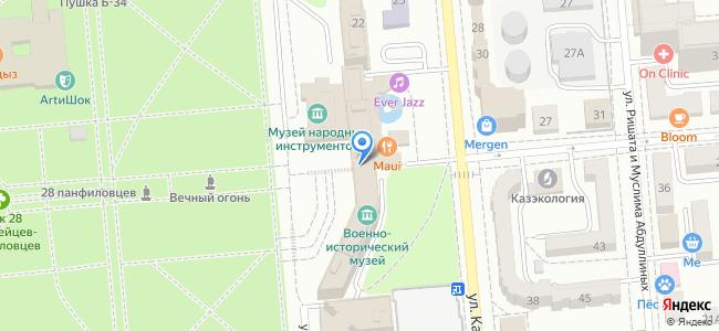 Казахстан, Алматы, улица Зенкова, 24