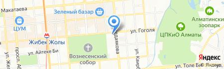 Кокил на карте Алматы