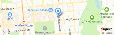 HOCK Training на карте Алматы