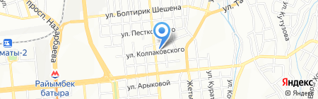 Каз Текстиль Элит на карте Алматы