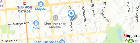 У Миши на карте Алматы