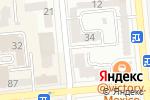 Схема проезда до компании Бейби Академия в Алматы