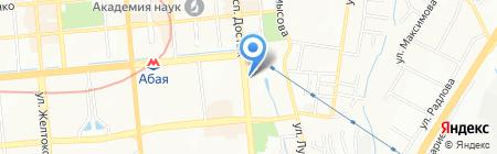 Arcada VIP на карте Алматы