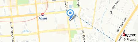 Лицей им. Ураза Жандосова на карте Алматы