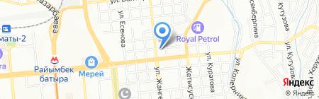 Asia Freight на карте Алматы