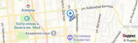 KazRosGaz на карте Алматы