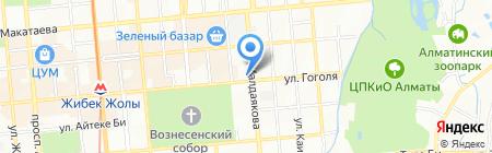 AlMed на карте Алматы