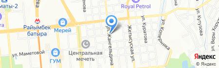 Millenium на карте Алматы