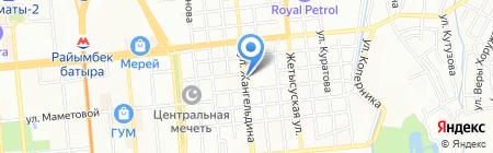 Ваниль на карте Алматы