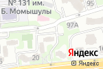 Схема проезда до компании Step up в Алматы