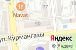 Схема проезда до компании ZEN в Алматы
