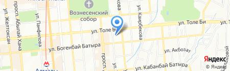 Delcon Tech на карте Алматы