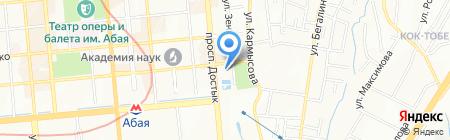 Казахстан на карте Алматы