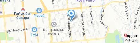 Алматинский городской реабилитационный центр для детей с ограниченными возможностями на карте Алматы