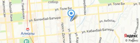 Продуктовый магазин на карте Алматы