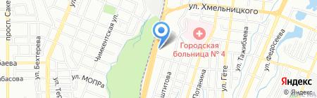 Банкомат Казинвестбанк на карте Алматы