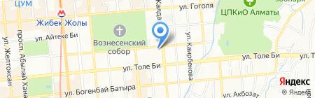 BTC на карте Алматы