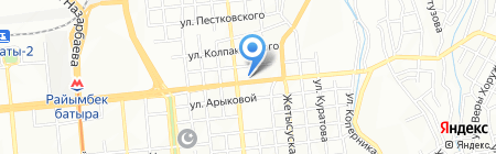 Afor на карте Алматы
