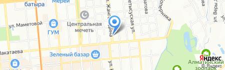 Верные друзья на карте Алматы