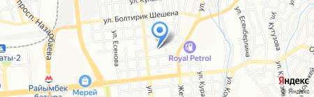 Библейское общество Казахстана на карте Алматы