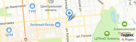 Fenics VIK на карте Алматы