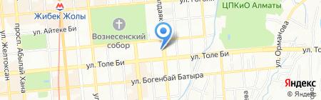 Kinofabrica на карте Алматы