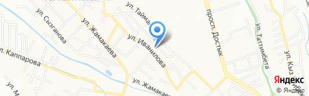 Kaz Steel System на карте Алматы