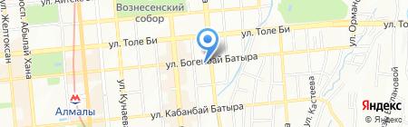 Обучение в начальной школе на карте Алматы