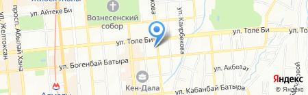 Fardji на карте Алматы