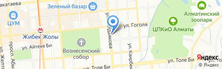 Роадад на карте Алматы