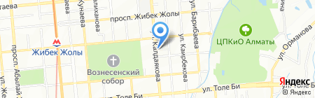 SPACE TRAVEL COMPANY на карте Алматы