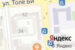 Схема проезда до компании Implant Dent в Алматы