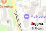 Схема проезда до компании BOULEVARD Magazine в Алматы