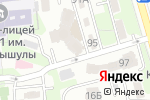 Схема проезда до компании Человек и Лекарство-Казахстан в Алматы