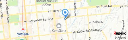 Meridian Travel & Tourism на карте Алматы