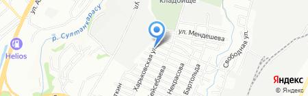 Салон аэрографии на Хакасской на карте Алматы